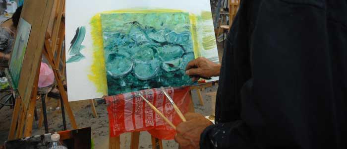 Stage adultes peinture à l'huile - À la rencontre de Monet