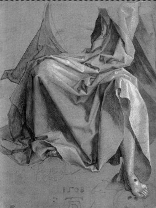 Dürer-drapé